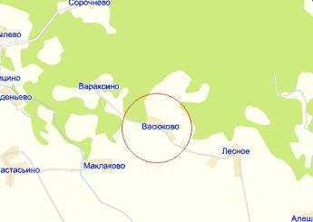 дер. Васюково на карте