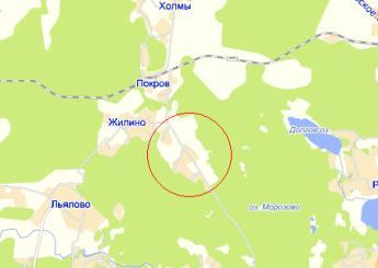 дер. Веревское на карте